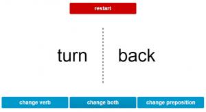 ESL phrasal verb app