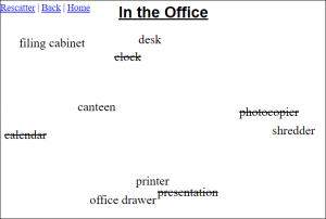 online scatter sheet maker